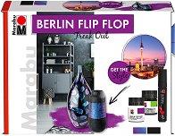 Комплект за декорация с хамелеонова боя - Berlin Flip Flop
