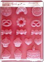 3D Форма - Сладкиши - Размери 21 x 29.7 cm