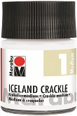 Напукващ се медиум - Iceland Crackle Step 1 - Бурканче от 50 ml