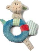 """Овчица - Мека бебешка играчка с дрънкалка от серията """"NICI: My first NICI"""" -"""