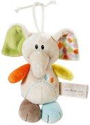 """Слонче - Dundi - Плюшена бебешка играчка от серията """"NICI: My first NICI"""" - играчка"""