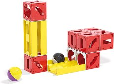 Писта за топчета - Cuboga - Детски конструктор - детски аксесоар
