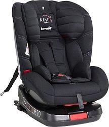"Детско столче за кола - Kimi Isofix tt - За ""Isofix"" система и деца от 0 месеца до 25 kg - залъгалка"