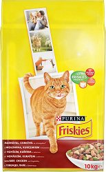 Friskies Cat with Beef, Chicken and Vegetables -