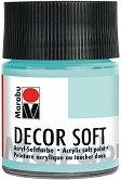 Акрилна боя с кадифен ефект - Decor Soft - Бурканче от 50 ml