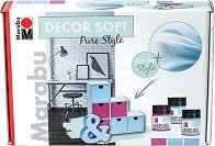 Акрилна боя с кадифен ефект - Pure Style - Комплект за декорация