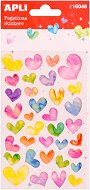 Самозалепващи стикери - Сърца - Комплект от 34 броя