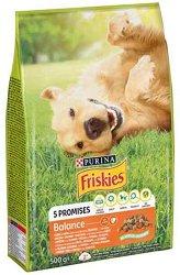 Friskies Dog Balance Vitafit - Суха храна с пилешко месо и зеленчуци за кучета в зряла възраст - чувал от 10 kg -