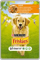 Friskies Adult Dog Vitafit with Chicken and Carrots in Sauce -