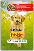 Friskies Adult Dog Vitafit with Beef and Potatoes in Sauce -