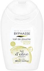 Byphasse Olive Milk Shower Cream - Душ крем с екстракт от маслини - сапун