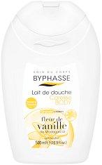 Byphasse Vanilla Flower Shower Cream - Душ крем с екстракт от ванилия -