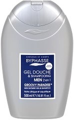 Byphasse Men Groovy Paradise 2 in 1 Shower Gel and Shampoo - душ гел