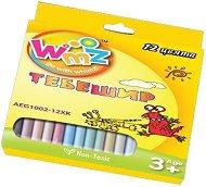 Цветни тебешири - Комплект от 12 цвята