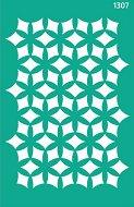 Самозалепващ шаблон - Геометрични фигури - Размери 13 х 20 cm