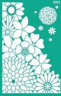 Самозалепващ шаблон - Цветна композиция - Размери 13 х 20 cm
