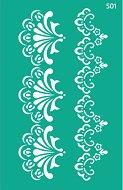 Самозалепващ шаблон - Цветни фризове - Размери 13 х 20 cm