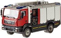"""Пожарникарски камион - MAN TGM - Метална играчка от серията """"Super: Emergency rescue"""" - количка"""