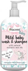 Nacomi Baby Mild Baby Wash & Shampoo - Бебешки шампоан за коса и тяло -