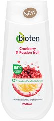 Bioten Cranberry & Passion Fruit Shower Cream - Душ крем с червена боровинка и маракуя - боя