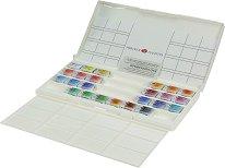 """Акварелни бои - Fantasy Set - Комплект от 24 цвята x 2.5 ml от серията """"White Nights"""""""