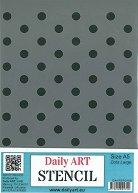 Шаблон - Dots large - Размер 14.8 х 21 cm