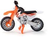 """Мотор - KTM SX-F 450 - Метална играчка от серията """"Siku - Super: Camping & Leisure"""" -"""