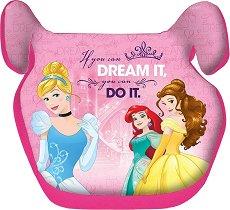 Детско столче за кола - Принцесите на Дисни - За деца от 15 до 36 kg -