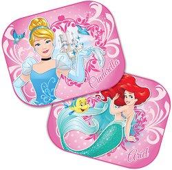Сенници - Принцесите на Дисни - Комплект от 2 броя аксесоари за автомобил - играчка