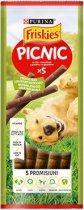 Friskies Picnic with Beef - Лакомство с телешко месо за кучета - опаковка от 5 броя -
