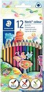 Цветни моливи - Noris Colour 187 - Комплект от 12, 24 или 36 цвята