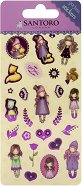 """Самозалепващи стикери - Комплект от 17 броя от серията """"Gorjuss"""""""