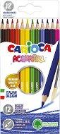 Цветни акварелни моливи - Комплект от 12 цвята - продукт