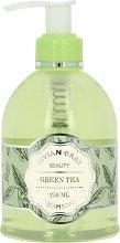 "Vivian Gray Naturals Cream Soap Green Tea - Течен сапун с аромат на зелен чай от серията ""Naturals"" -"