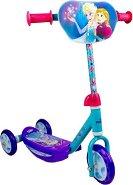 """Frozen - Детска тротинетка с 3 колела от серията """"Замръзналото кралство"""""""