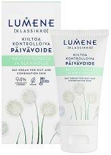 """Lumene Klassikko Shine Controlling Day Cream - Матиращ дневен крем за мазна и комбинирана кожа от серията """"Klassikko"""" -"""