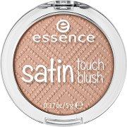 Essence Satin Touch Blush - Руж с перлен ефект - мокри кърпички
