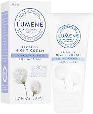 """Lumene Klassikko Restoring Night Cream - Възстановяващ нощен крем за всеки тип кожа от серията """"Klassikko"""" - червило"""
