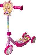 Barbie - Детска тротинетка с 3 колела