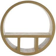 Фигура от папиемаше - Кръгла етажерка - Предмет за декориране
