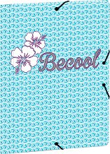 Папка с ластик - Becool - Формат А4