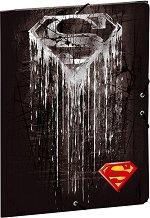 Папка с ластик - Superman - Формат А4