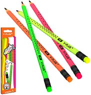 Графитни моливи - HB - Star neon - Комплект от 6 броя - продукт