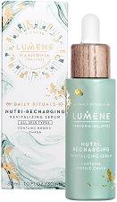 "Lumene Harmonia Nutri-Recharging Revitalizing Serum - Ревитализиращ серум за лице за всеки тип кожа от серията ""Harmonia"" -"