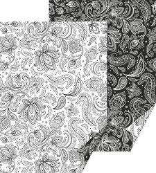 Картон за скрапбукинг - Zenart Paisley - Размер 50 х 70 cm