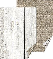 Картон за скрапбукинг - Дървени текстури