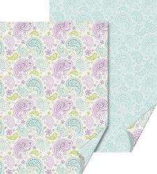 Картон за скрапбукинг - Paisley - Размер 50 х 70 cm