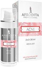 Afrodita Professional Antibacterial Effect & Calming Acne Cream - Крем за мазна и склонна към акне кожа с антибактериален и успокояващ ефект -