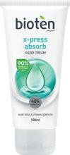 Bioten X-press Absorb Hand Cream - Бързо абсорбиращ се крем за ръце с алое вера - дезодорант