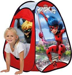 """Детска палатка - Калинката - От серията """"Мега-чудесата на Калинката и Черния котарак"""" -"""